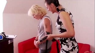 Femdom Sweetie Pegging My Ass