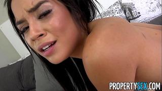 Propertysex - Pronajímatel Vydírání do prdele své přítelkyně Young Sis