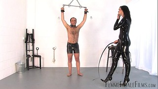 Willing To Satisfy Part 3 - The Hunteress - Femmefatalefilms - Extreme Whipping