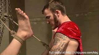 Alex Adams and Connor Patricks in Bondage Orgy