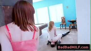 Lauren Phillips и Alexa Nova в Coitus Action Scene