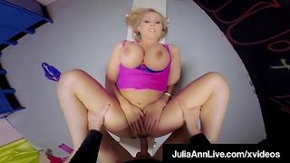 Omklædningsrum Fuck N suget Milf Julia Ann Får grim gymnastik pik