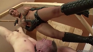 Megan Jones Strapon F Ast;  Ast; Slave