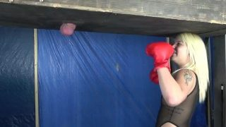 Ballbusting Boxing Back to the Gym